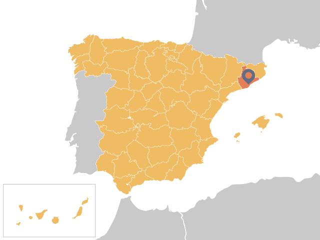 Ubicación Barcelona
